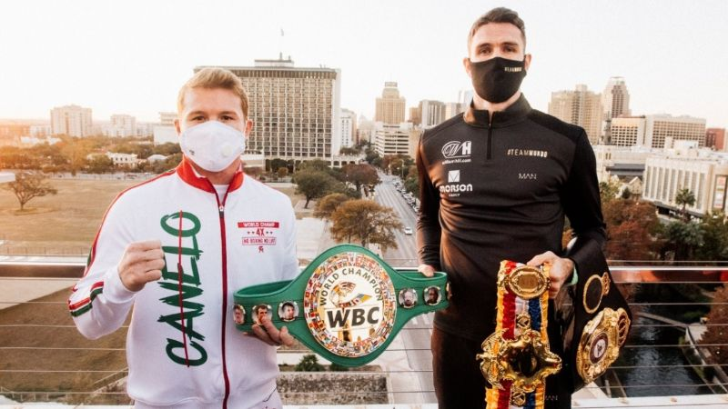 Pesaje Canelo vs Smith: a qué HORA y dónde ver EN VIVO la ceremonia por internet