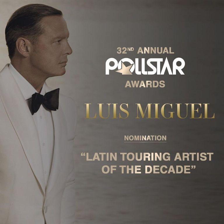 Pollstar Awards 2021: Luis Miguel es nominado y hace este IMPORTANTE  anuncio | Terra Mexico