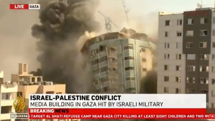 ÚLTIMAS NOTICIAS: Israel BOMBARDEÓ edificio de Al Jazeera en Gaza ¿Por censura? (VIDEO)