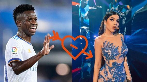 Kenia Os tiene una relación con Vinicius Jr? Estas FOTOS comprueban su  ROMANCE   Terra Mexico
