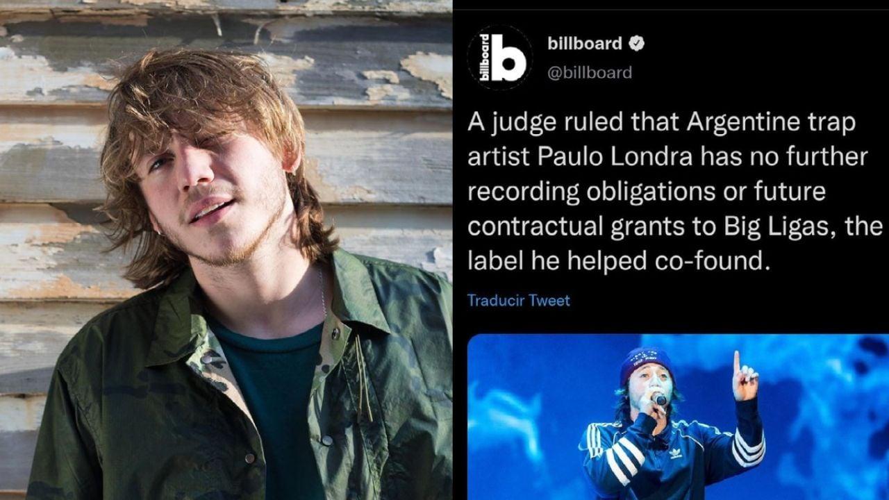Paulo Londra ganó el juicio a Big Ligas HOY? La VERDAD detrás del 'tweet'  VIRAL de Billboard   FOTO   Terra Mexico